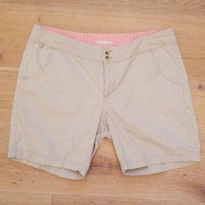 Columbia Omni-Shade ~ Khaki Bermuda Shorts